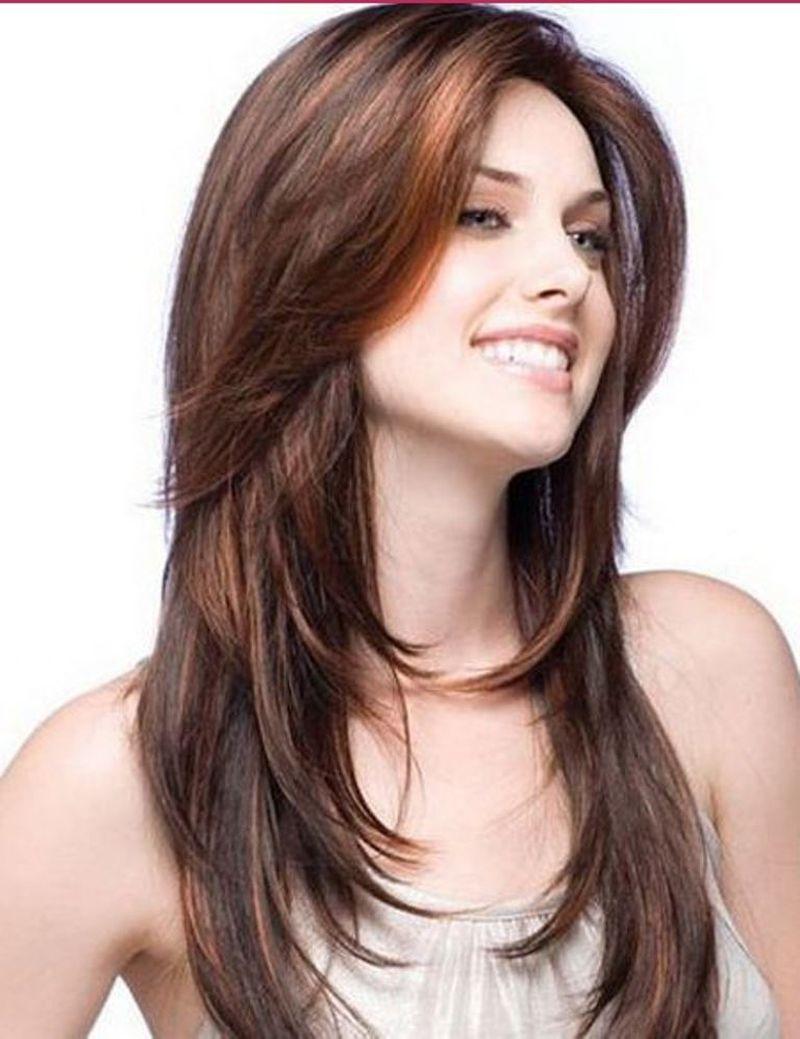 صورة احدث قصات الشعر الطويل , بالصور احلى قصات للشعر الطويل