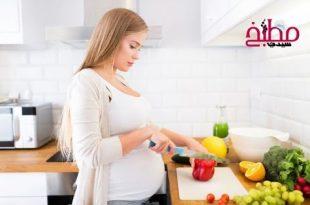 صور تغذية المراة الحامل , نظام غذائي سليم تتبعه الحامل