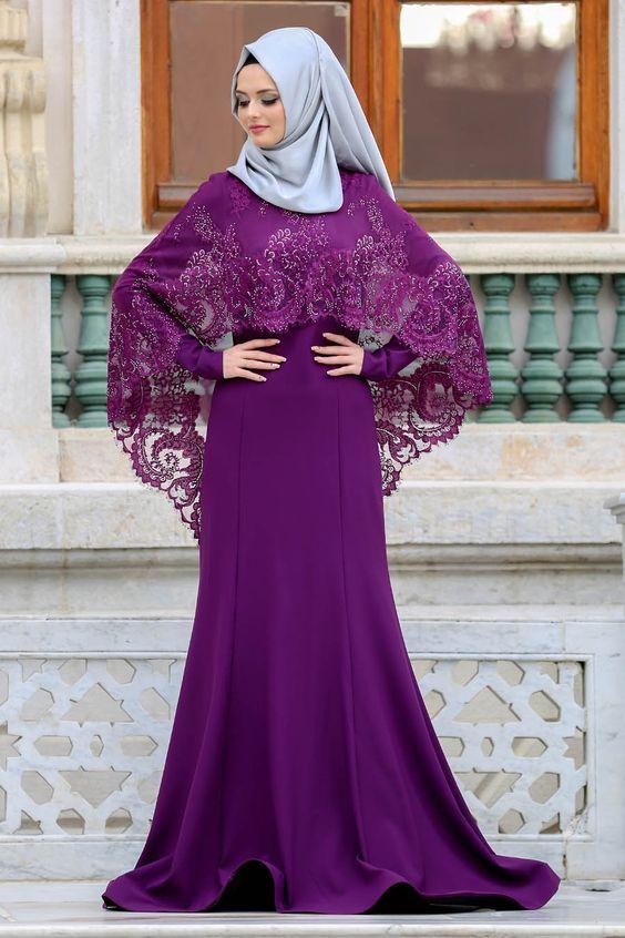 صورة فساتين سهرة دانتيل , اشيك موديلات لفساتين المساء والسهرة 2219 7