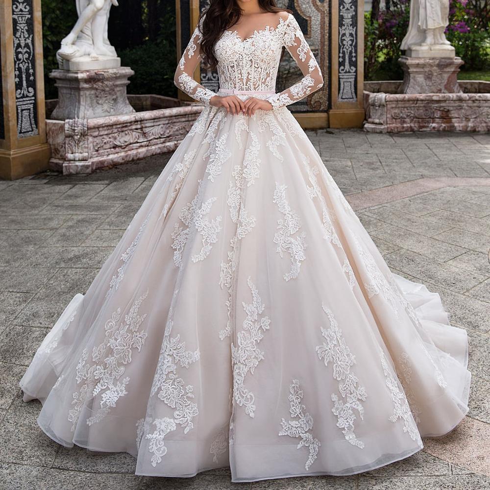 صورة بدلات اعراس تركية , فساتين زفاف تركي