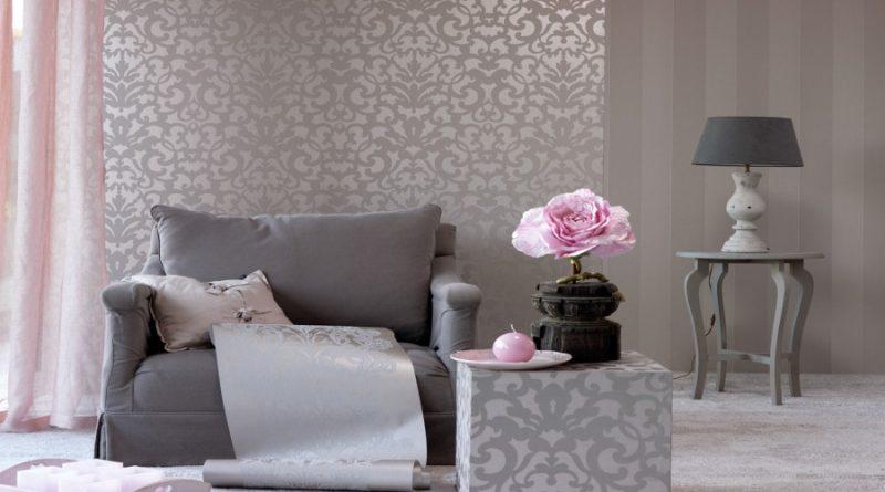 صورة تنسيق ورق الجدران , ديكورات منزليه بورق الحائط