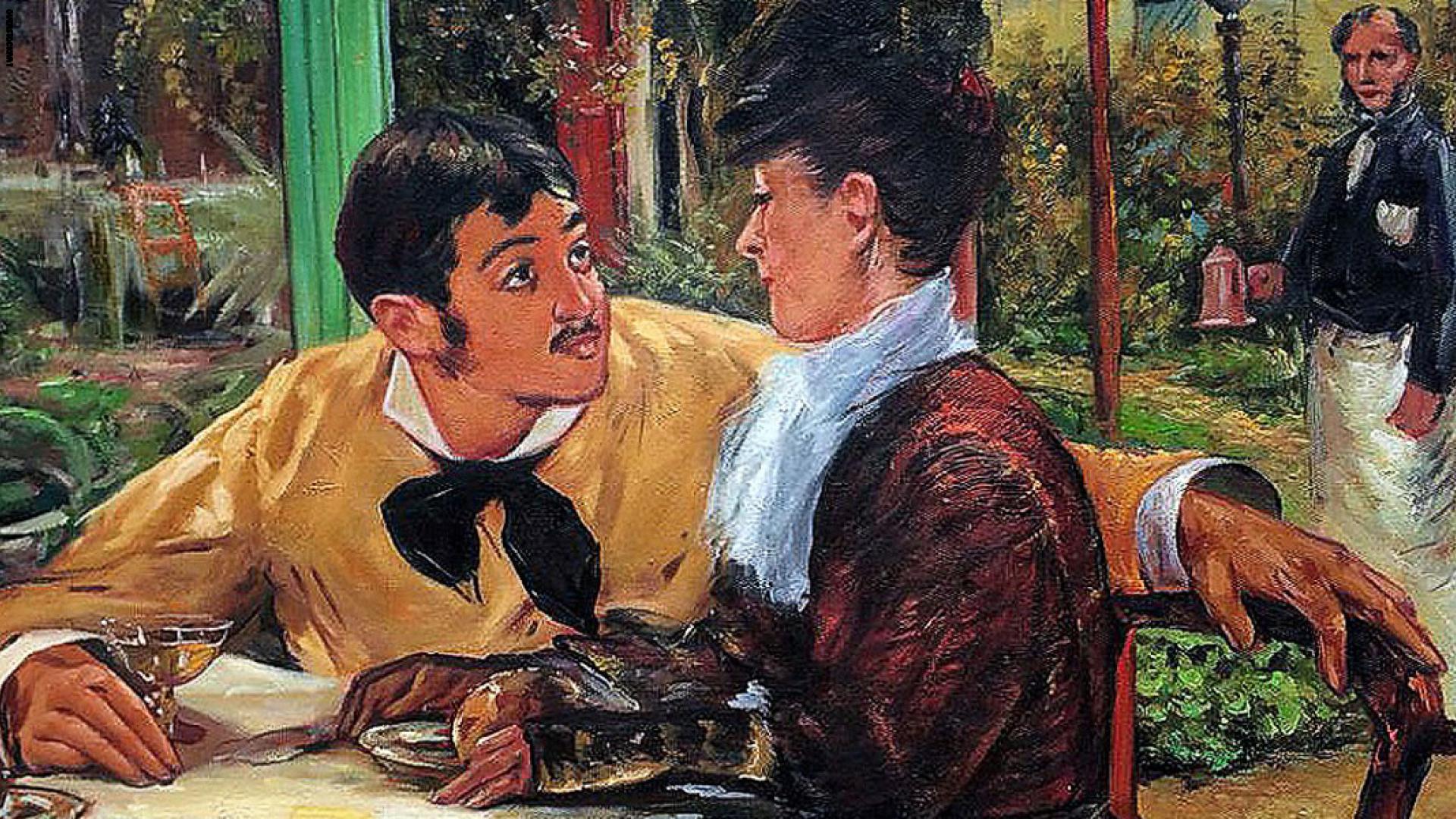 صورة لوحات عالمية عن الحب , اجمل رسومات الحب حول العالم