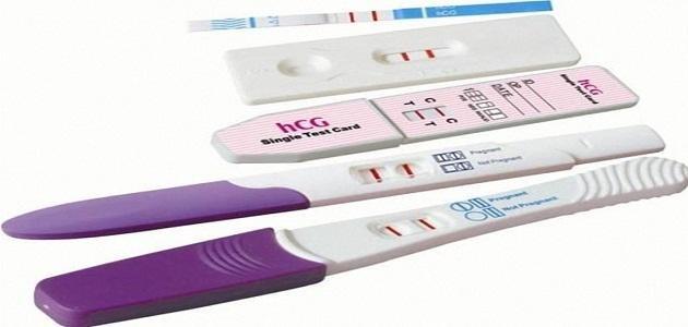 صورة طريقة عمل اختبار الحمل المنزلي , طرق منزليه لمعرفه الحمل