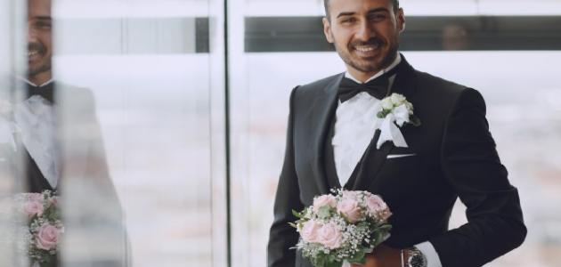صورة شعر للعريس خالد , تهنئه بالزواج للعريس