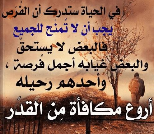 صورة كلام حكم عن الحياة , عبره و عظه عن الحياه
