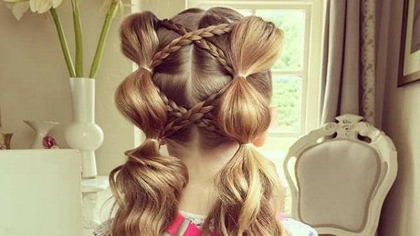 صورة تسريحات بنات صغار للشعر القصير , احدث صيحه في تسريحات الشعر للاطفال