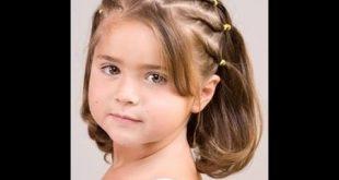 صور تسريحات بنات صغار للشعر القصير , احدث صيحه في تسريحات الشعر للاطفال