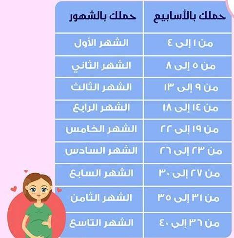 حاسبة الحمل لمعرفة موعد