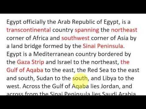 صور برجراف عن مصر بالانجليزى , اجمل ما قيل عن مصر