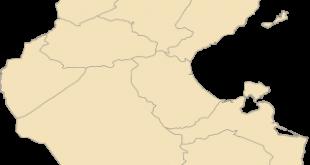 صورة خريطة تونس مفصلة , حدود تونس الجعرافيا