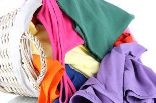صورة ازالة صبغ الملابس على بعضها , كيفيه تنظيف الملابس من بقعه الالوان
