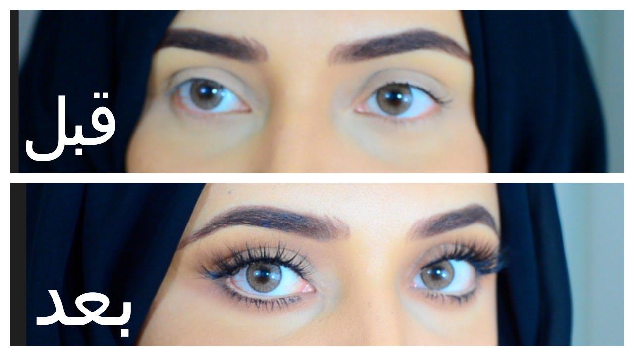 صور تكبير العيون طبيعيا بدون مكياج , حيل طبيعيه لتكبير العيون