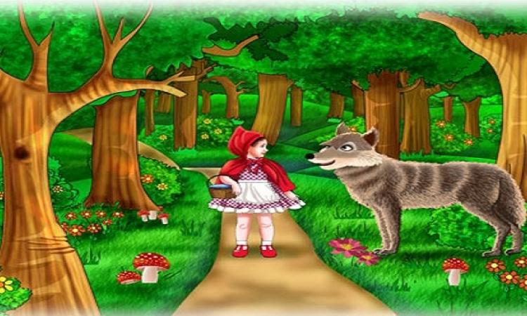صور قصة ليلى والذئب بالعربية , قصص اطفال مسليه
