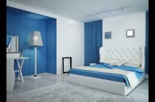 صور ديكورات غرف نوم لون ازرق , ديكورات غرف نوم اولاد