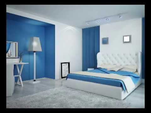 صورة ديكورات غرف نوم لون ازرق , ديكورات غرف نوم اولاد