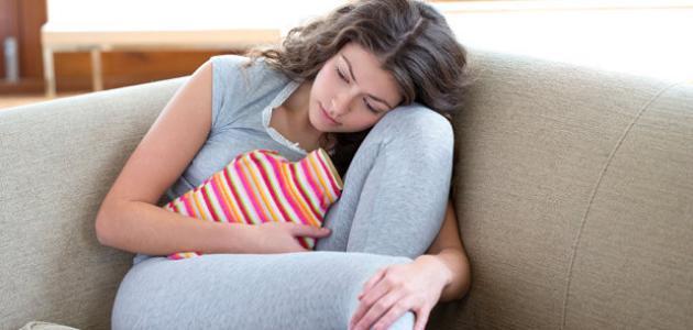 صورة اعراض قرب الدورة الشهرية , معلومات عن الدوره الشهريه