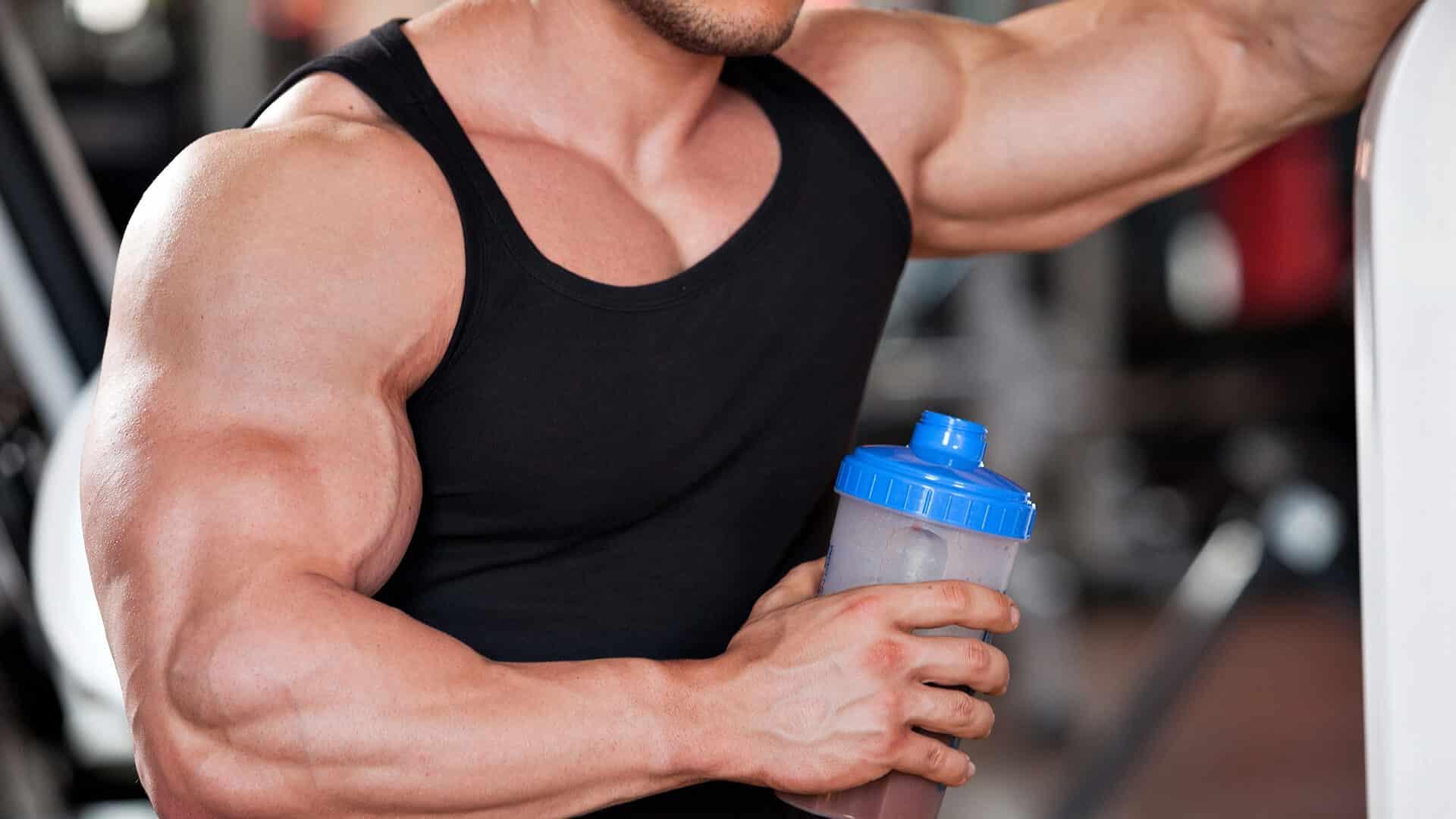 صورة افضل بروتين لتضخيم العضلات , انواع مكملات الغذاء لبناء العضلات