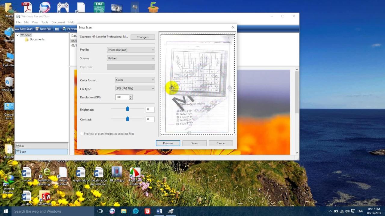 صورة طريقة عمل سكنر للاوراق , كيفيه مسح الصور ضوئيا