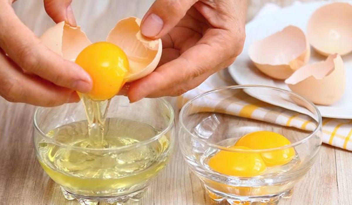 صورة ماسك صفار البيض وزيت الزيتون للشعر , فوائد البيض وزيت الزيتون للشعر