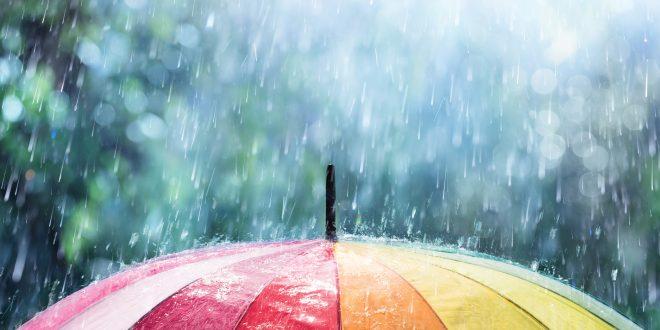 صور كيف بينزل المطر , تكوين السحاب ونزول المطر