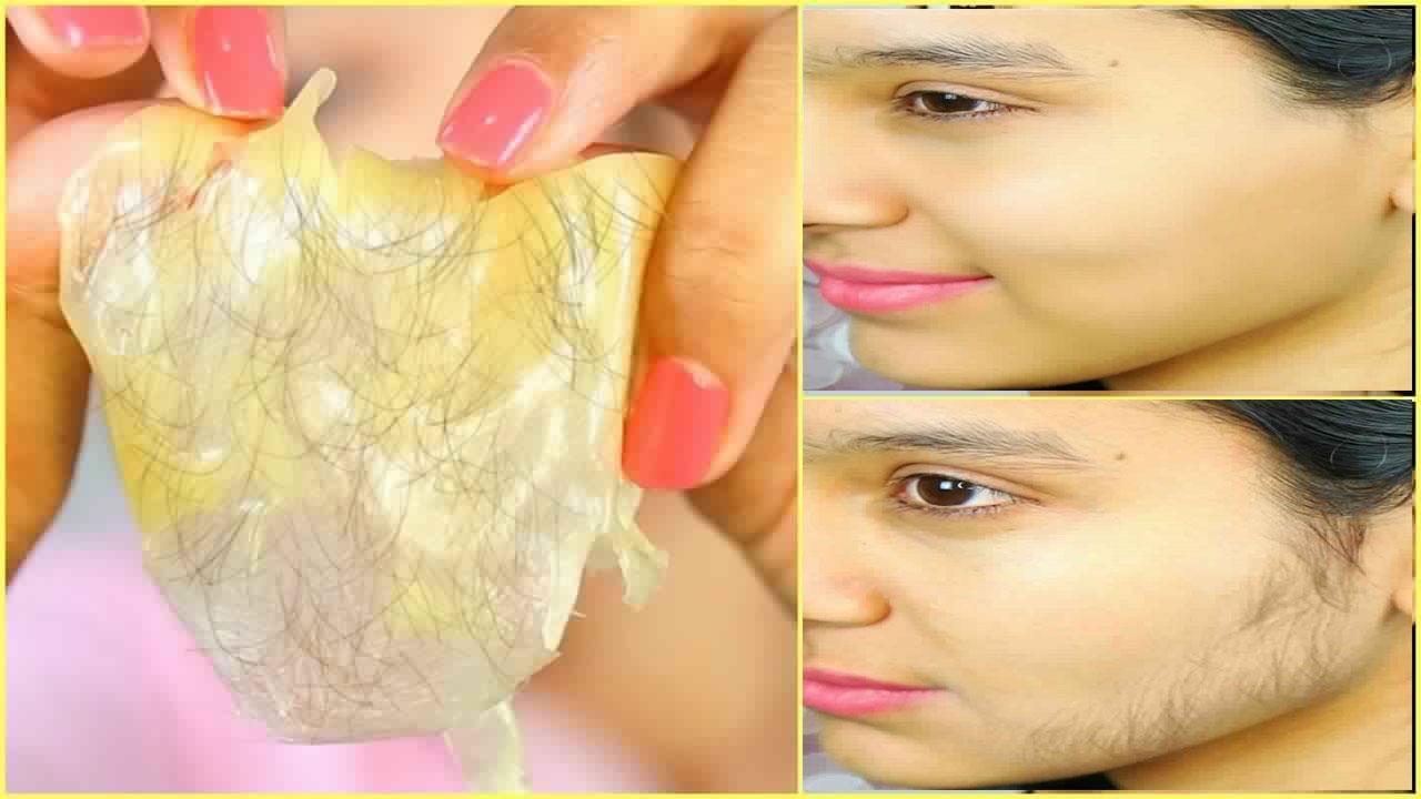 صور طريقة ازالة شعر الوجه , ازالة الشعر بطريقة سحرية