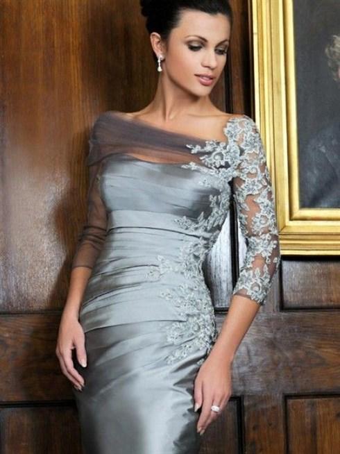 صورة فستان ام العريس , احدث موديلات الفساتين 5269 6