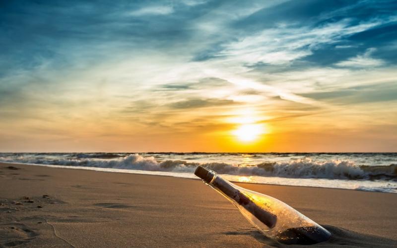 صورة خلفيات بحر مكتوب عليها , احدث خلفيات معبرة عن البحر