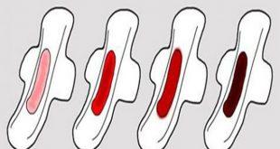 صورة الفرق بين دم الحيض والاستحاضة , هل الاستحاضة عند المراة امر طبيعى ام يستوجب استشارة الطبيب