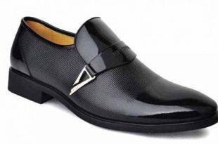 صورة احذية رجالية جلد طبيعي , تشكيلة كلاسيكية للاحذية الطبيعية