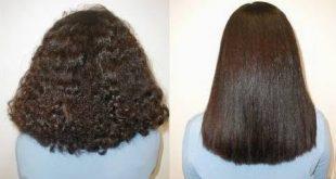 صورة فرد الشعر طبيعي 100 لجميع انواع الشعر , وصفات مجربة لتمليس الشعر طبيعيا