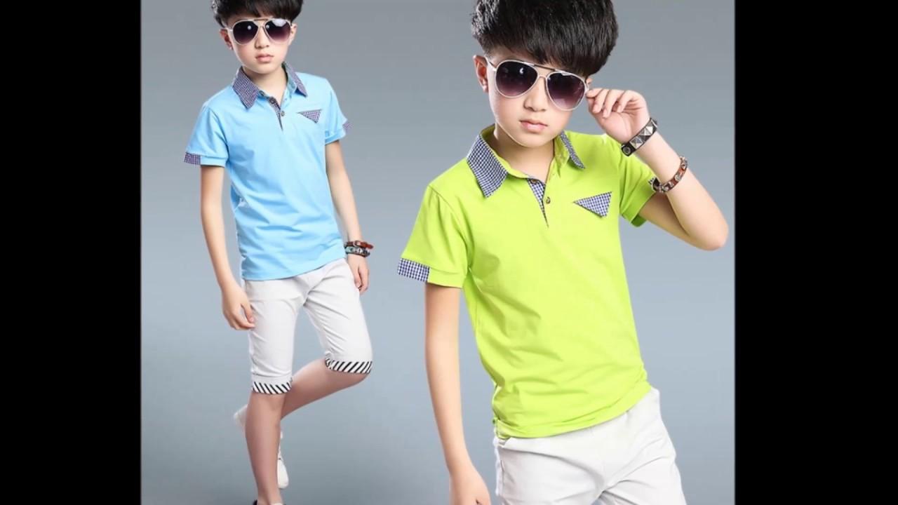 صورة ملابس اولاد صيفية , الكسوة الصيفية للاولاد الصغار اخر شياكة 2682 3