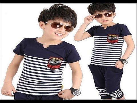صورة ملابس اولاد صيفية , الكسوة الصيفية للاولاد الصغار اخر شياكة 2682 6
