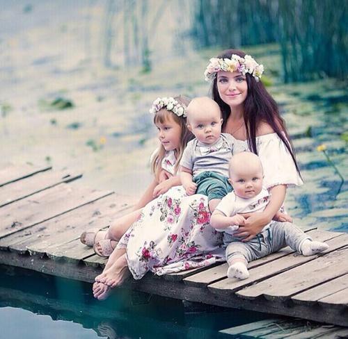 صور صور ام مع اطفالها , رمزيات ام وابنائها للفيس بوك