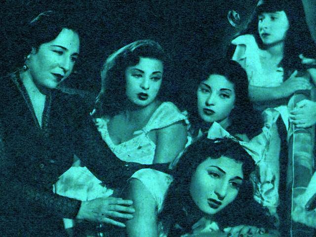 صورة اربع بنات وضابط , فيلم مصري بطوله انور وجدي