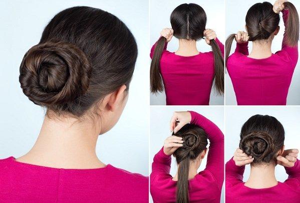 صورة تسريحات شعر بسيطة للبنات , تسريحات شعر ناعمه و رقيقه 3107 3