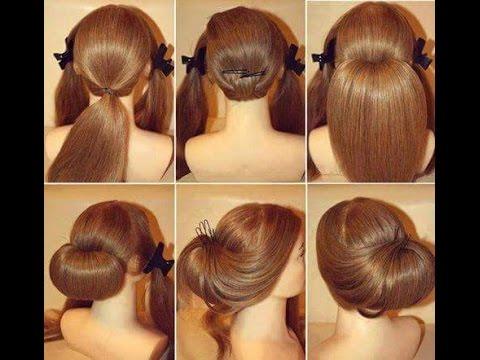 صورة تسريحات شعر بسيطة للبنات , تسريحات شعر ناعمه و رقيقه 3107 5