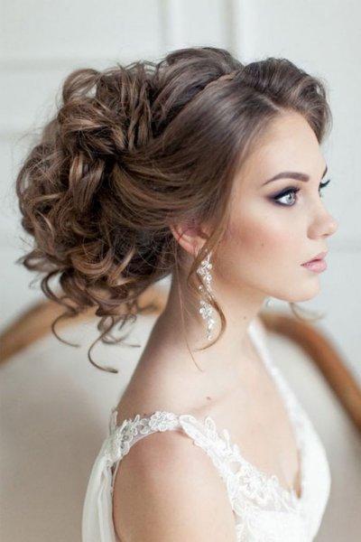 صور تسريحات العروس 2019 , احدث تسريحات شعر للعروس