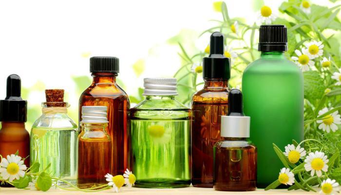 صورة الزيوت الطبيعيه و الشعر , فوائد الزيوت الطبيعيه في علاج الشعر التالف