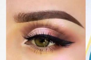 صورة مكياج عيون ناعم , طرق تطبيق مكياج عيون مميز