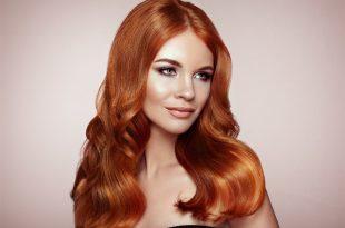 صورة صبغ الشعر البرتقالي , كيفيه سحب اللون البرتقالي من الشعر