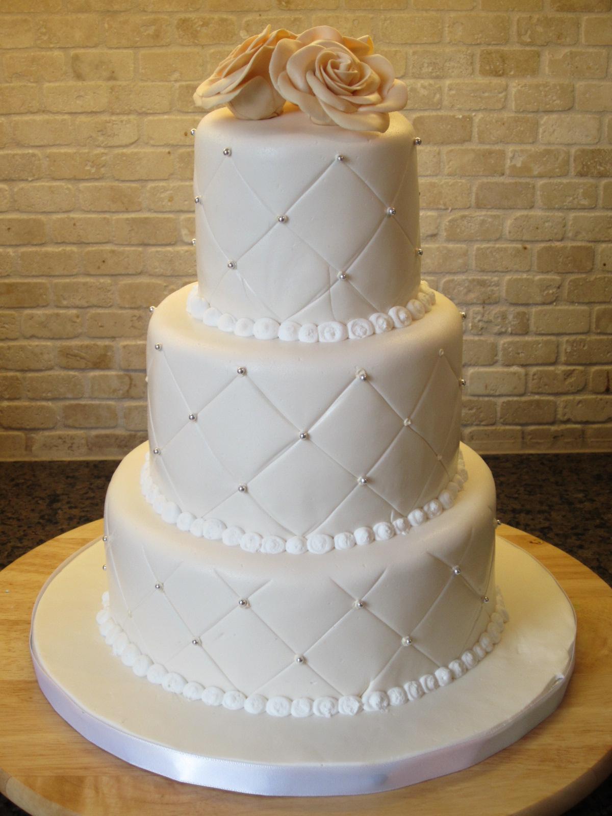 صورة صور تورتة زفاف , اشكال توته لزفاف رائعه 4262 6