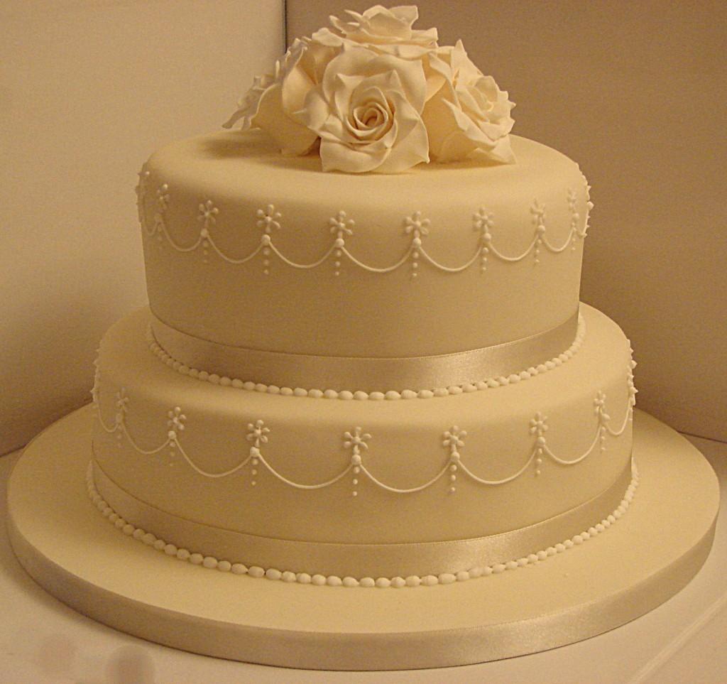 صورة صور تورتة زفاف , اشكال توته لزفاف رائعه 4262 8