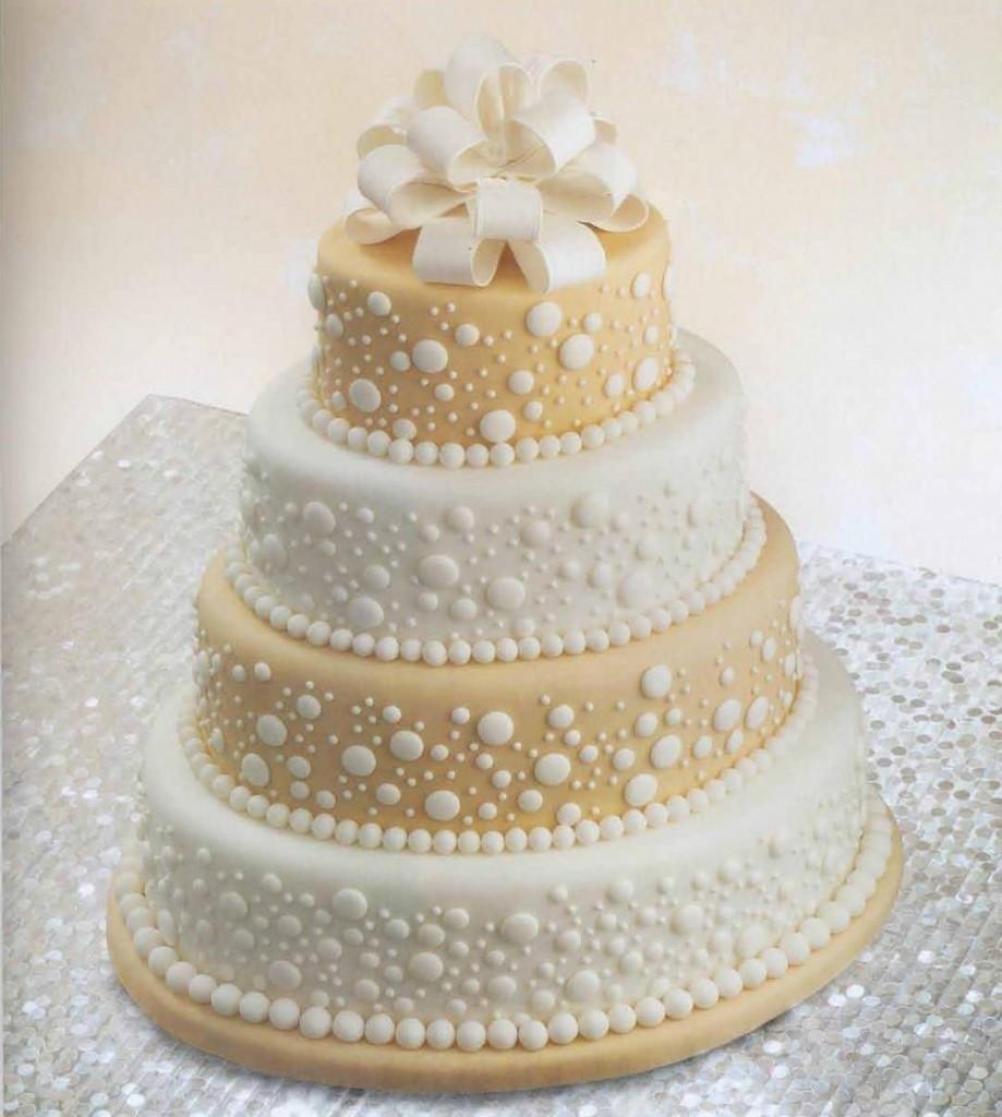 صورة صور تورتة زفاف , اشكال توته لزفاف رائعه 4262 9