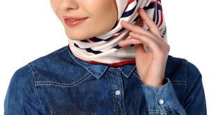 صورة لفات طرح شيك , احدث طرق لفات الحجاب