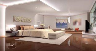 صور ديكور جبس غرف نوم للعرسان , افكار لديكورات جبس لغرف النوم