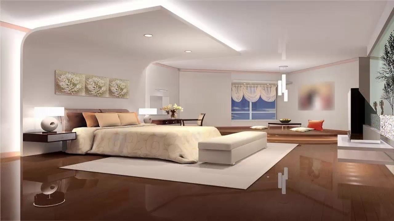 صورة ديكور جبس غرف نوم للعرسان , افكار لديكورات جبس لغرف النوم