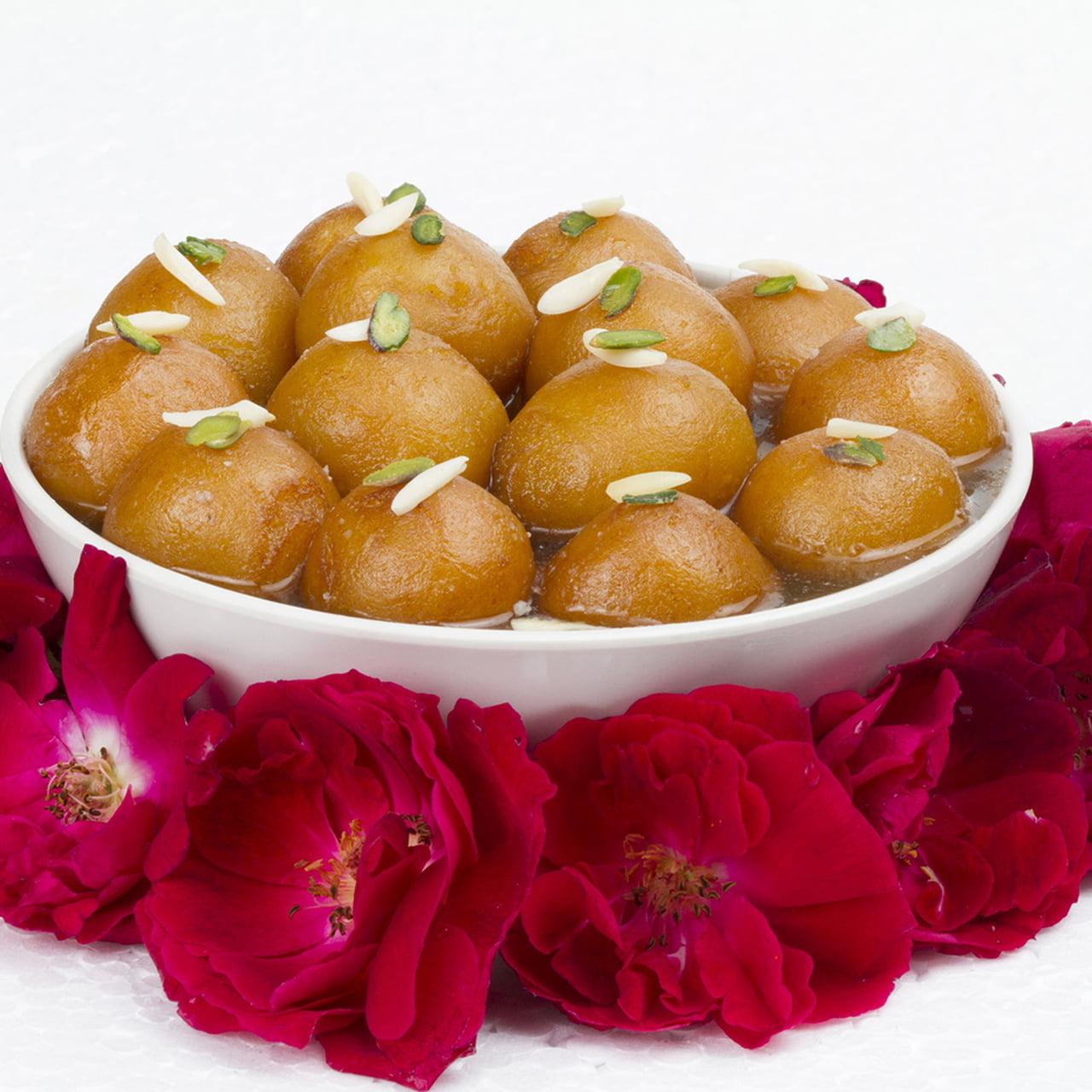 صور حلويات هندية جولاب جامون , طريقه عمل جولاب جامون