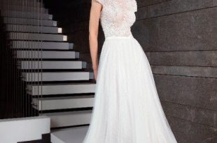 صور اخر صيحات فساتين الزفاف 2019 , لكل عروس محتارة فى اختيار فستانها