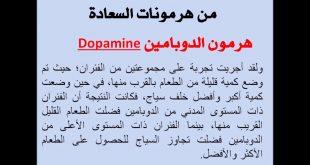 صورة هرمون السعادة الدوبامين , هل الدوبامين هو سبب سعادتى فى الحياه ؟