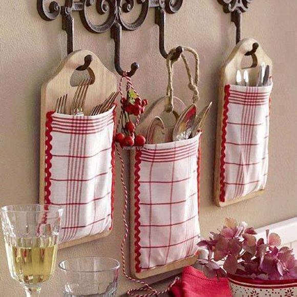 صور تزيين المطبخ باعمال يدوية , ابتكرى هذة الاشياء لتزيين مطبخك